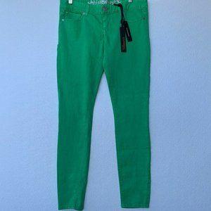 New Express Women's Jean Green Legging Zelda Slim